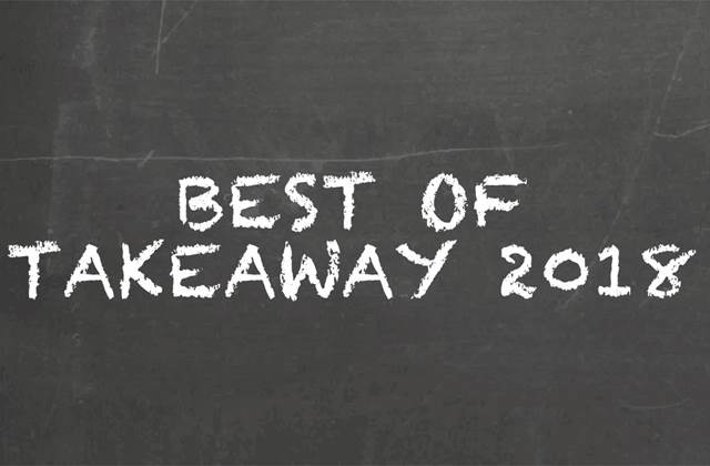 Best of Takeaway 2018